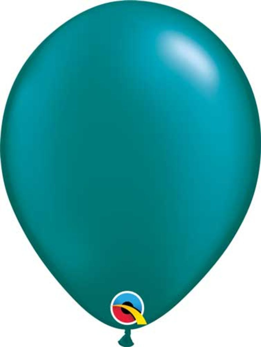 Radiant Pearl Teal 5 inch Latex Balloon