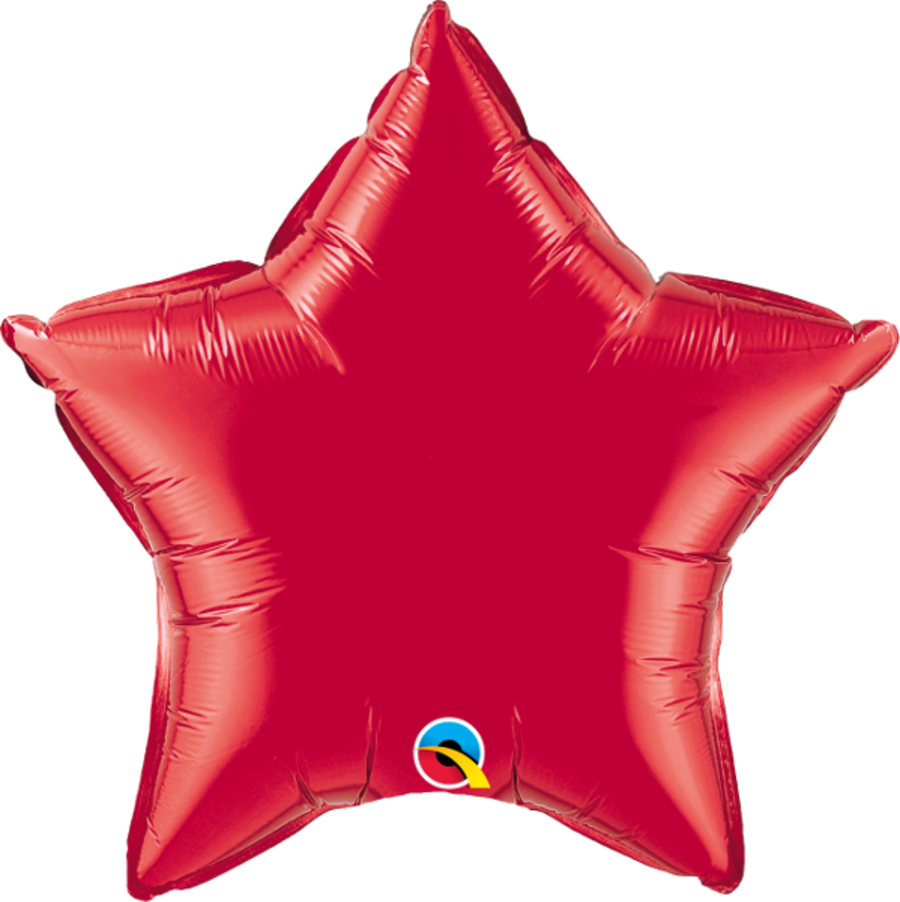 Red Foil Star Balloon 20 inch
