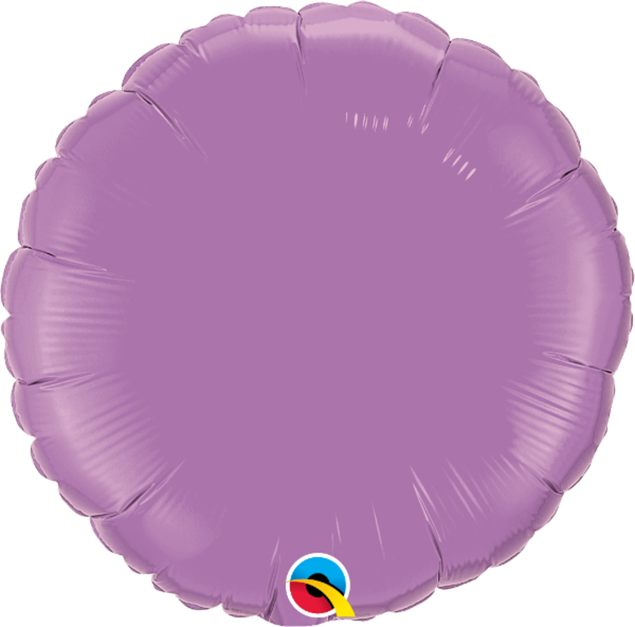 Lilac Foil Round Balloon 18inch