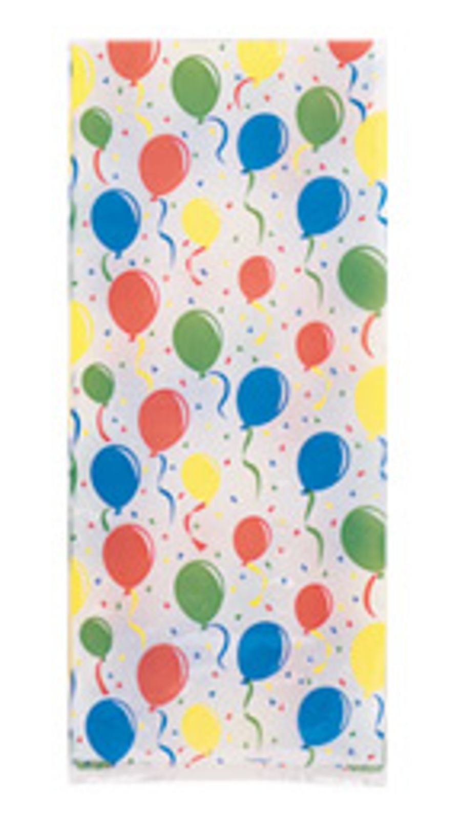 Festive Balloons Cello Bags - Pack of 20