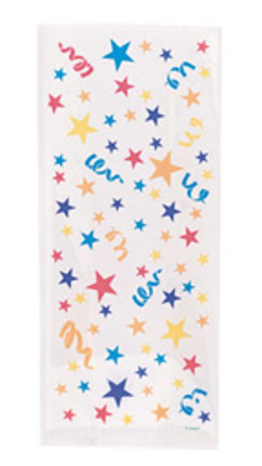 Stars Cello Bags - Pack of 20