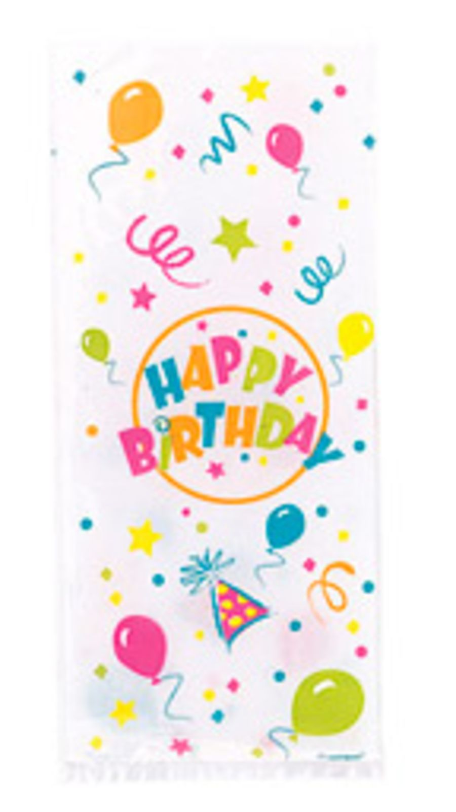 Birthday Blast Cello Bags - Pack of 20