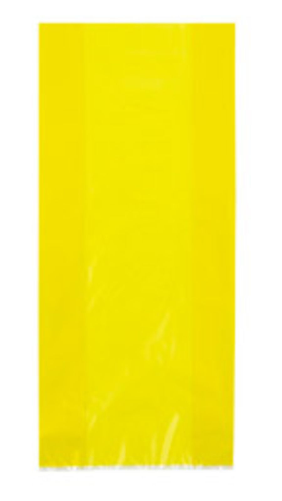 Yellow Cello Bags - Pack of 30