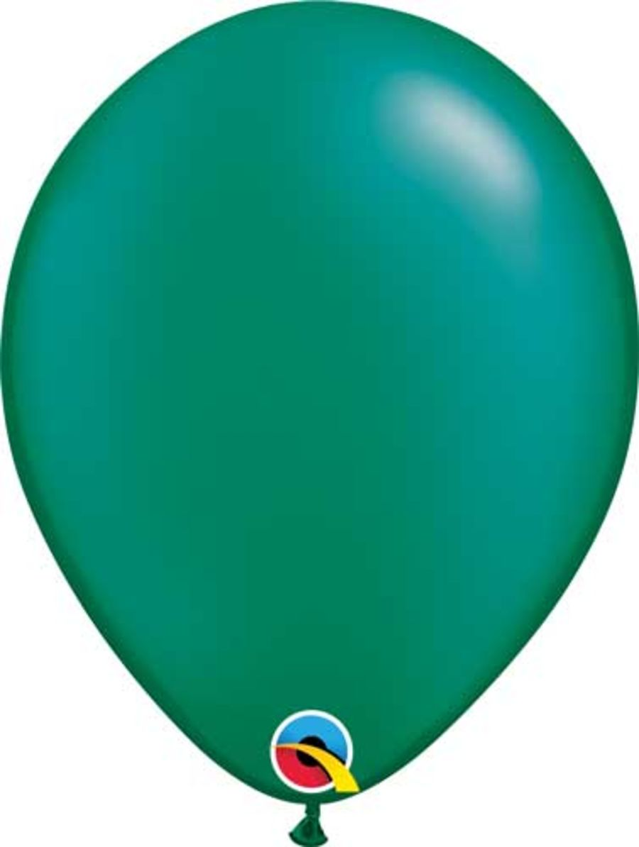 Radiant Pearl Emerald Green - 11 inch