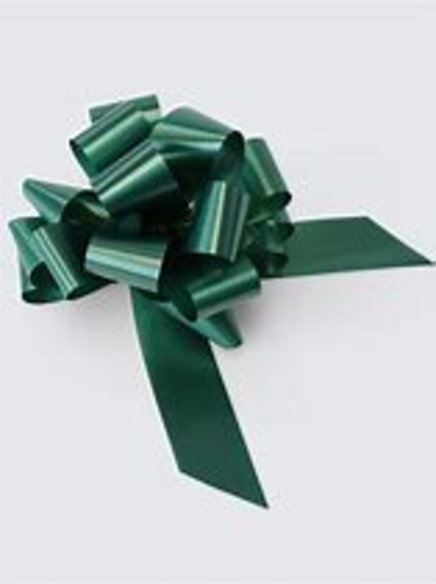 2 Inch Pull Bow - Green