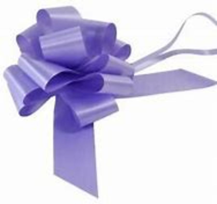2 Inch Pull Bow - Lilac