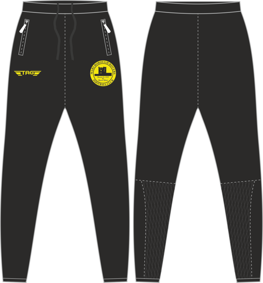 D2D. MRFC Tight Fit Tech Trouser - Adult