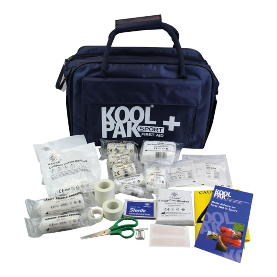 J6P. Koolpak Team First Aid Kit