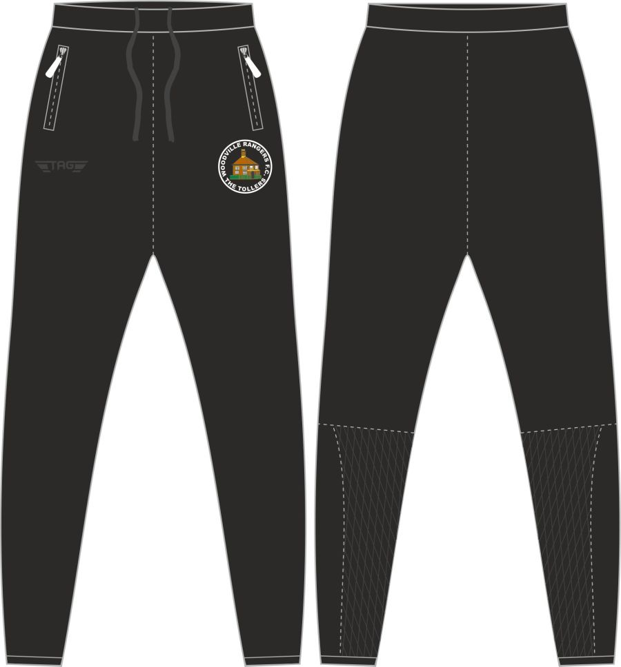 D2D. WRFC Tight Fit Tech Trouser - Adult