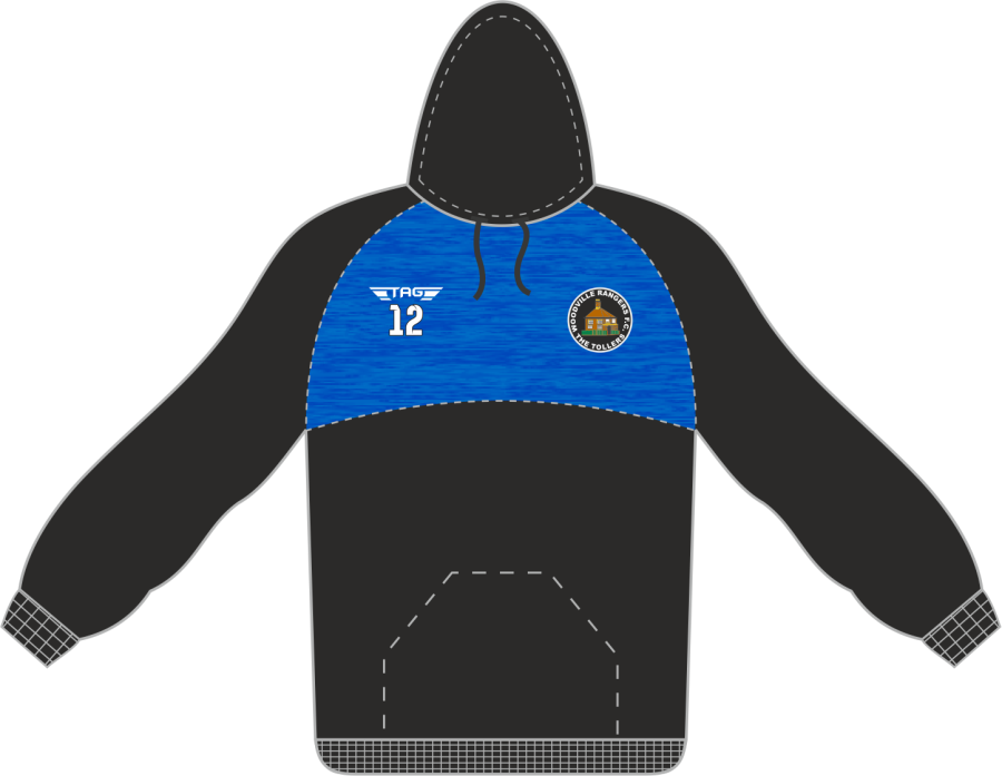 D7D. WRFC Sports Hoody - Adult