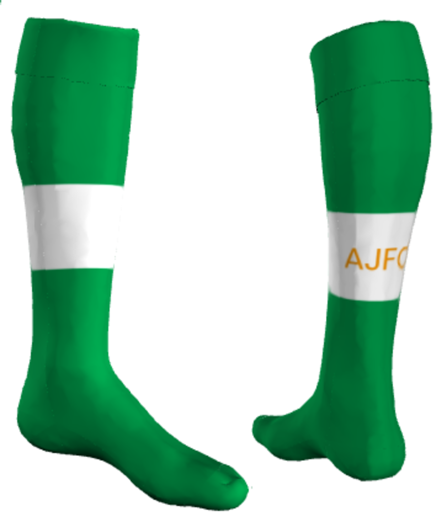 C2N. Ambleside JFC - Home Match Sock - Adult