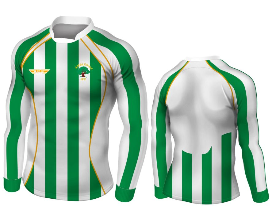C2E. Ambleside JFC - Home Match Jersey - Child