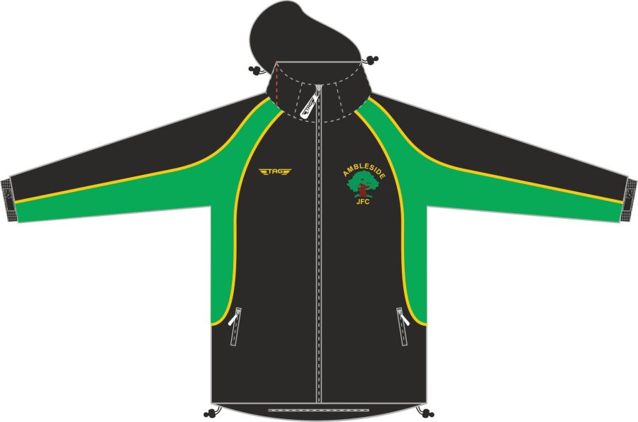 E7D. Ambleside JFC - Rain Jacket - Adult