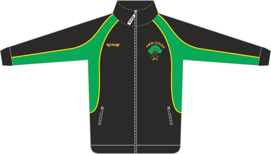 D6C. Ambleside JFC Tech Tracksuit Jacket - Child