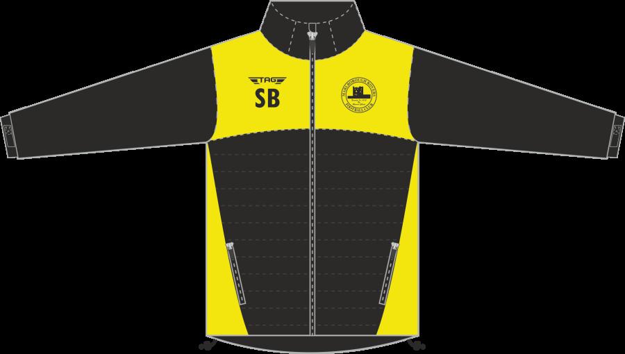 D4K. Marlborough Hybrid Puffa Softshell Jacket - Child