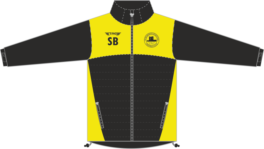 D4L. Marlborough Hybrid Puffa Softshell Jacket - Adult