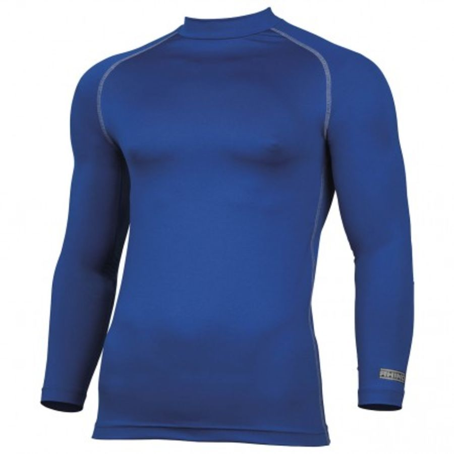 C5D. Rhino Long Sleeve Baselayer Top - Royal - Child