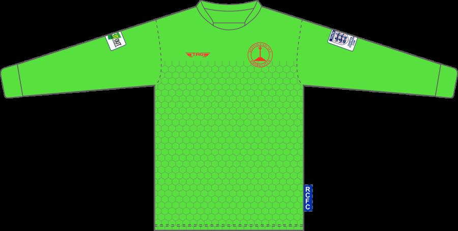 C4D. Repton Casuals Bright Green GK Set - Adult