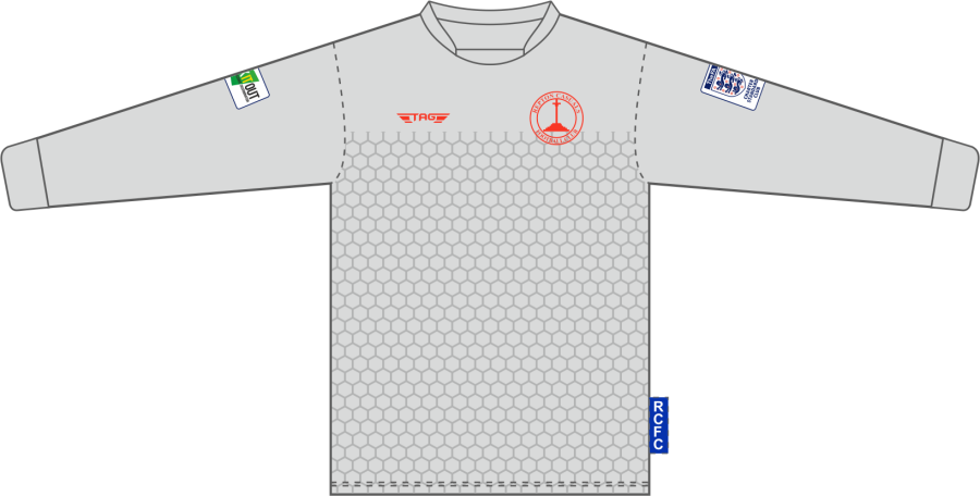 C4H. Repton Casuals Silver GK Jersey - Adult