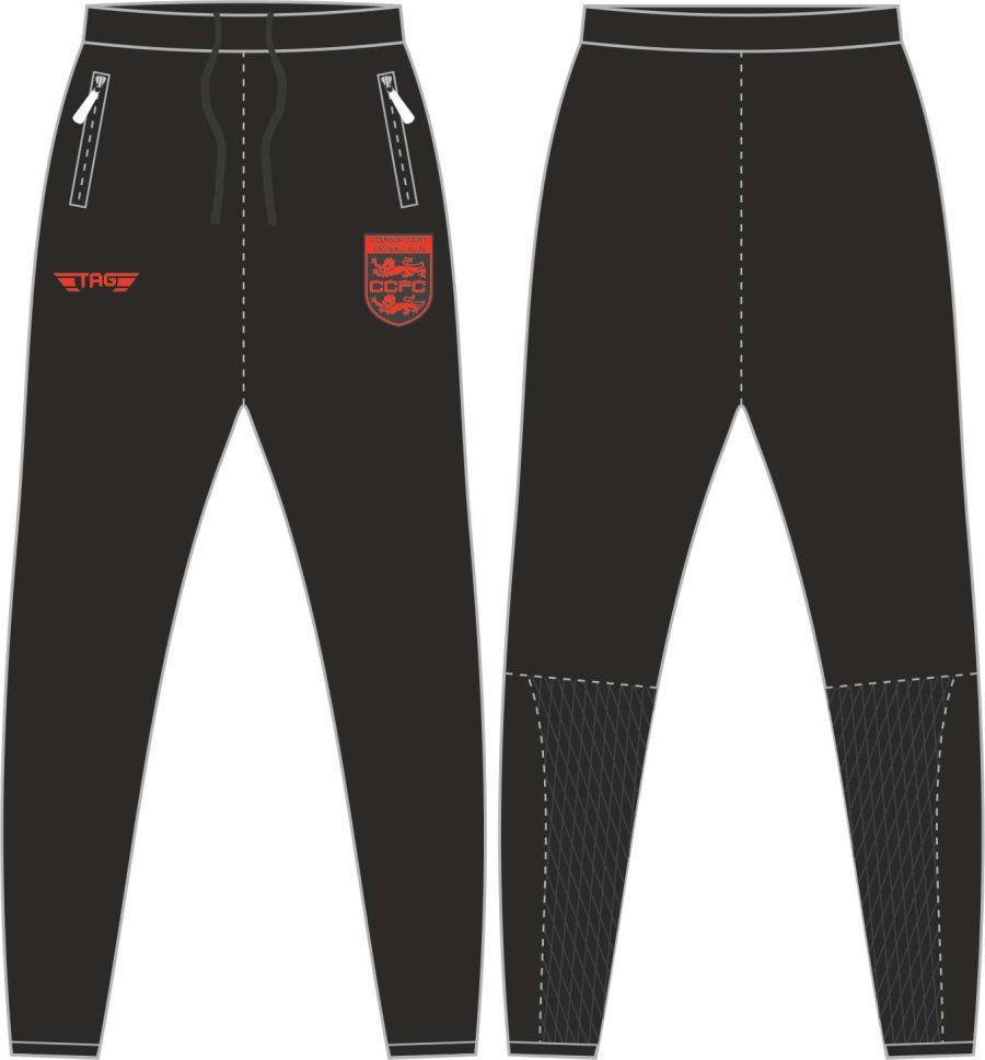 D2D. Coundon Court Tight Fit Tech Trouser - Adult