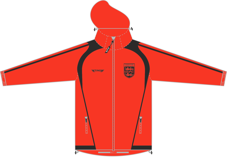 D4D. Coundon Court - Rain Jacket - Managers