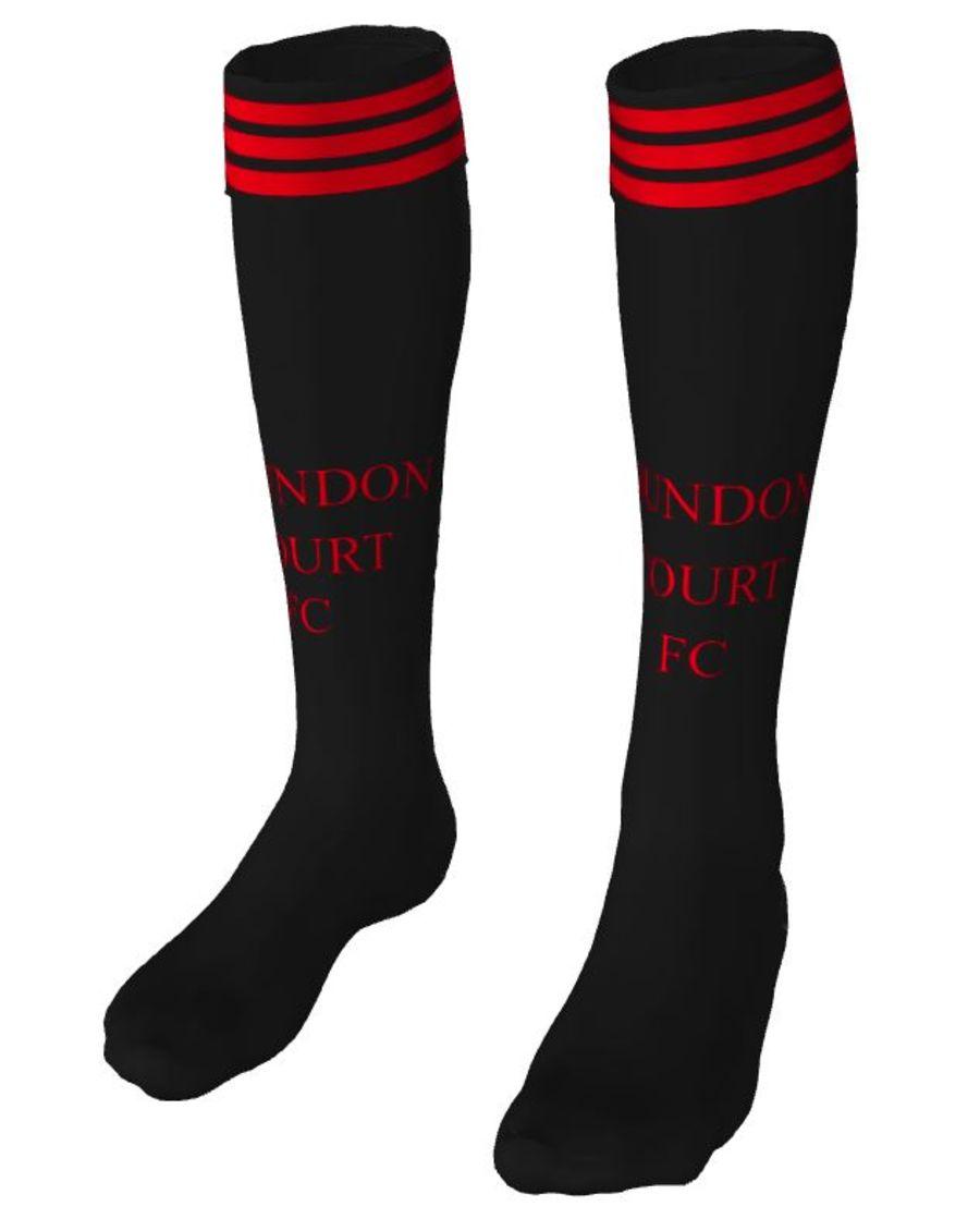 C2J.  Coundon Court Home Match Sock - Adult