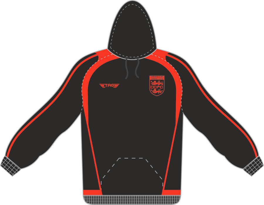 D7C. Coundon Court Sports Hoody - Players