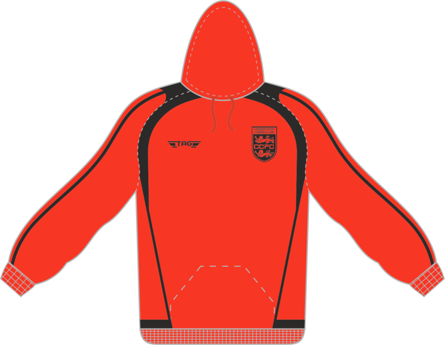 D7D. Coundon Court Sports Hoody - Managers