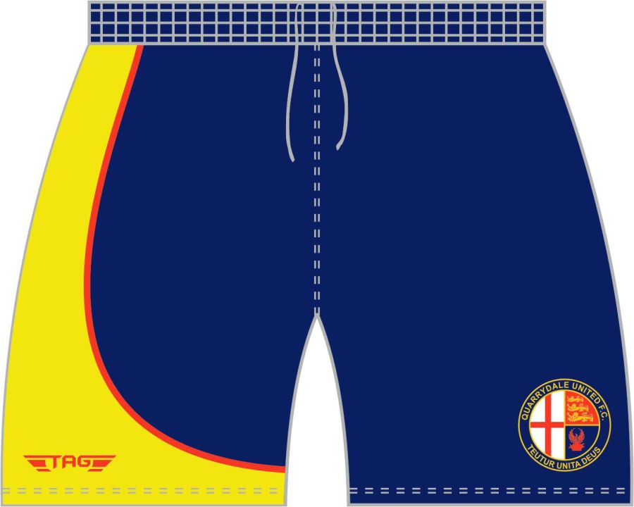 C3H. Quarrydale  Away Match Short - Adult
