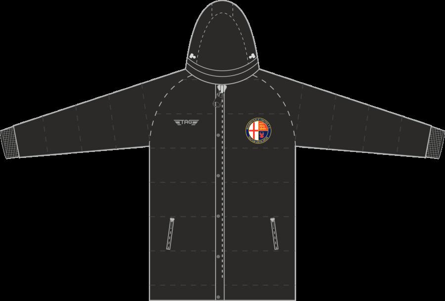 D5D. Quarrydale Hip Length Puffa Jacket - Adult