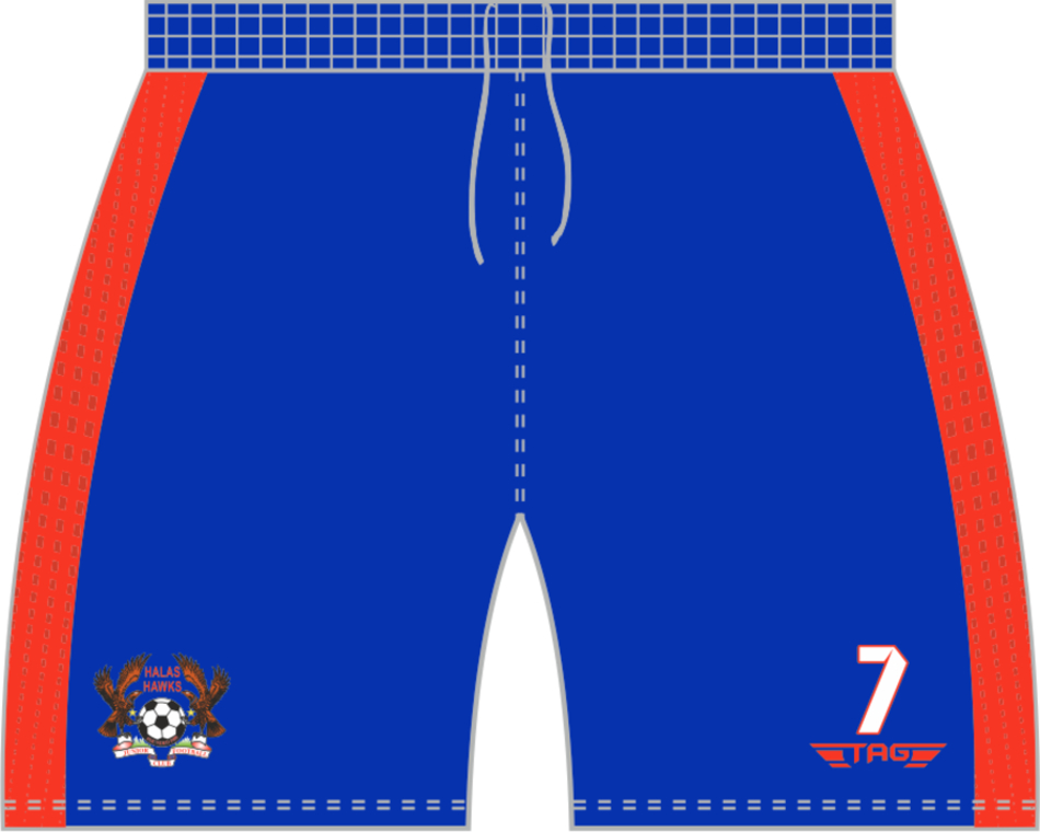 C2H. Halas Hawks Home Match Short - Adult