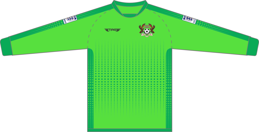 C4C. Halas Hawks Green GK Set - Child