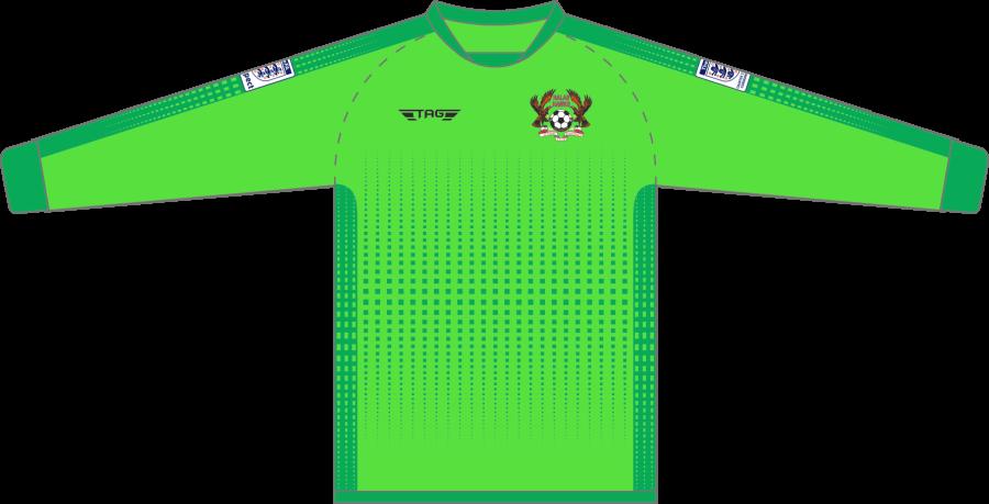 C4C. Halas Hawks Green GK Jersey - Child