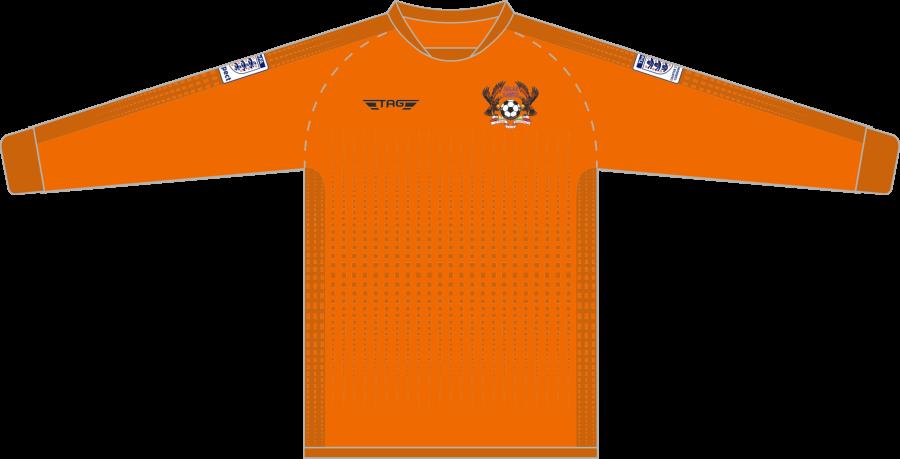 C4G. Halas Hawks Orange GK Jersey - Child