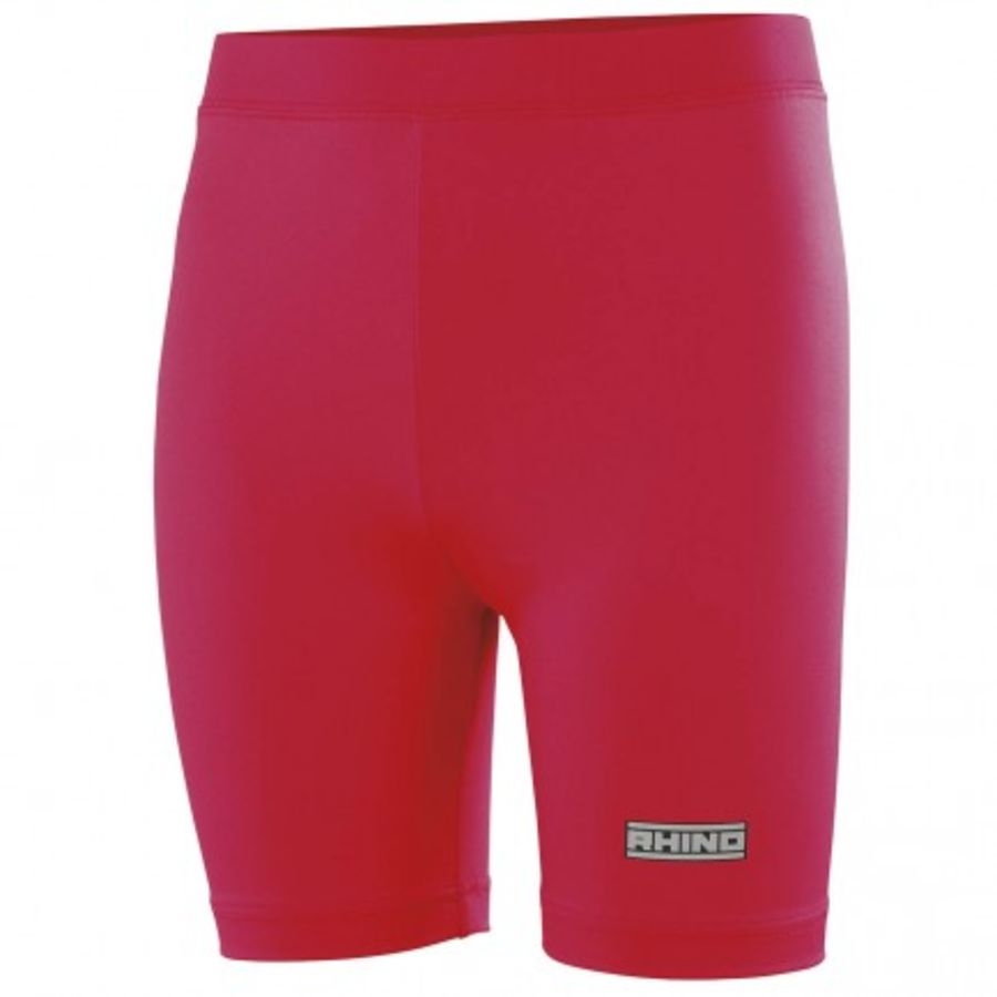 C6Z. Rhino Baselayer Short - Red - Adult