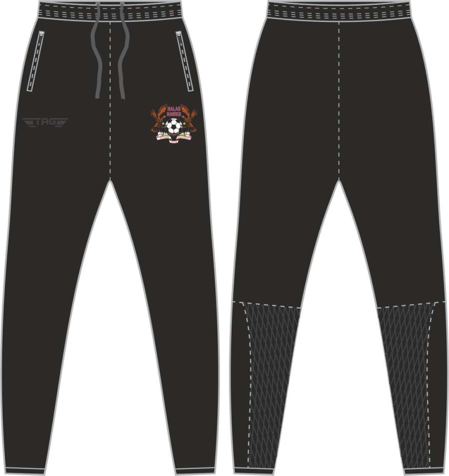 D2C. Halas Hawks Tight Fit Tech Trouser - Child