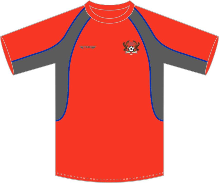 D3C. Halas Hawks Red Training Jersey - Child
