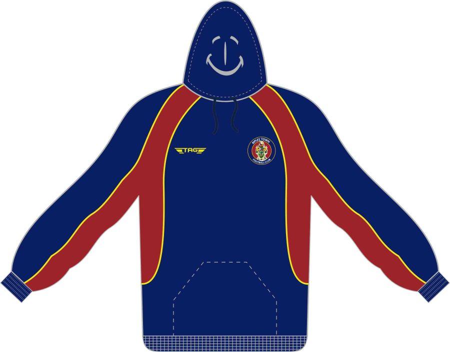 D7C. Halas Hawks Charcoal Sports Hoody - Child