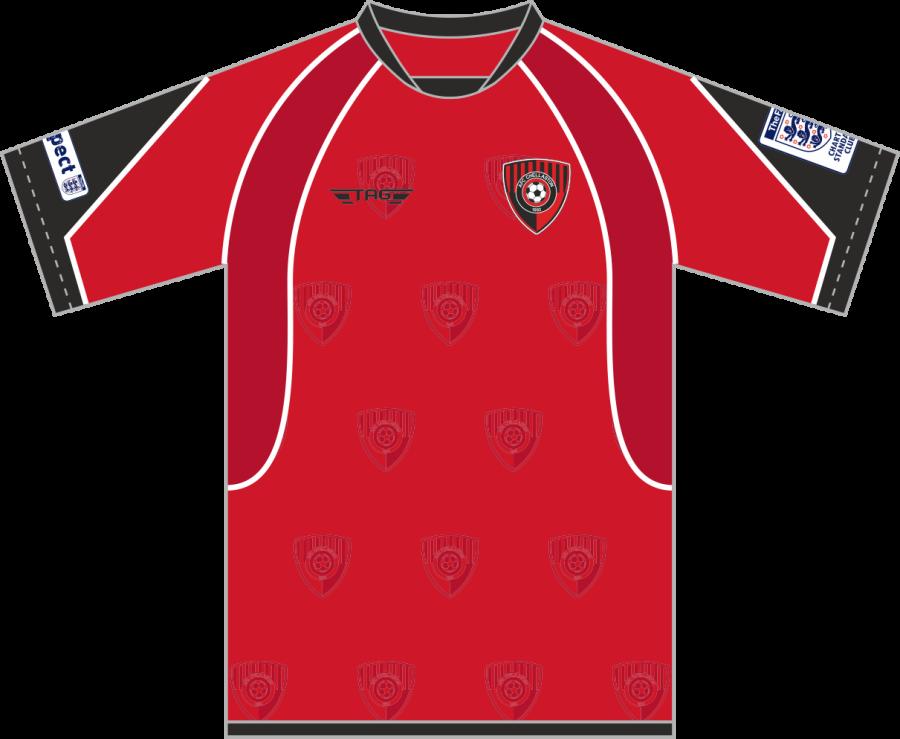 C2C. AFC Chellaston Home Match Jersey S/S - Child