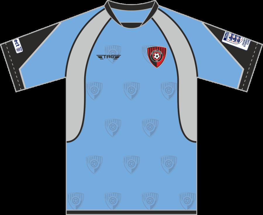 C3C. AFC Chellaston Sky Blue Away Match Jersey S/S - Child
