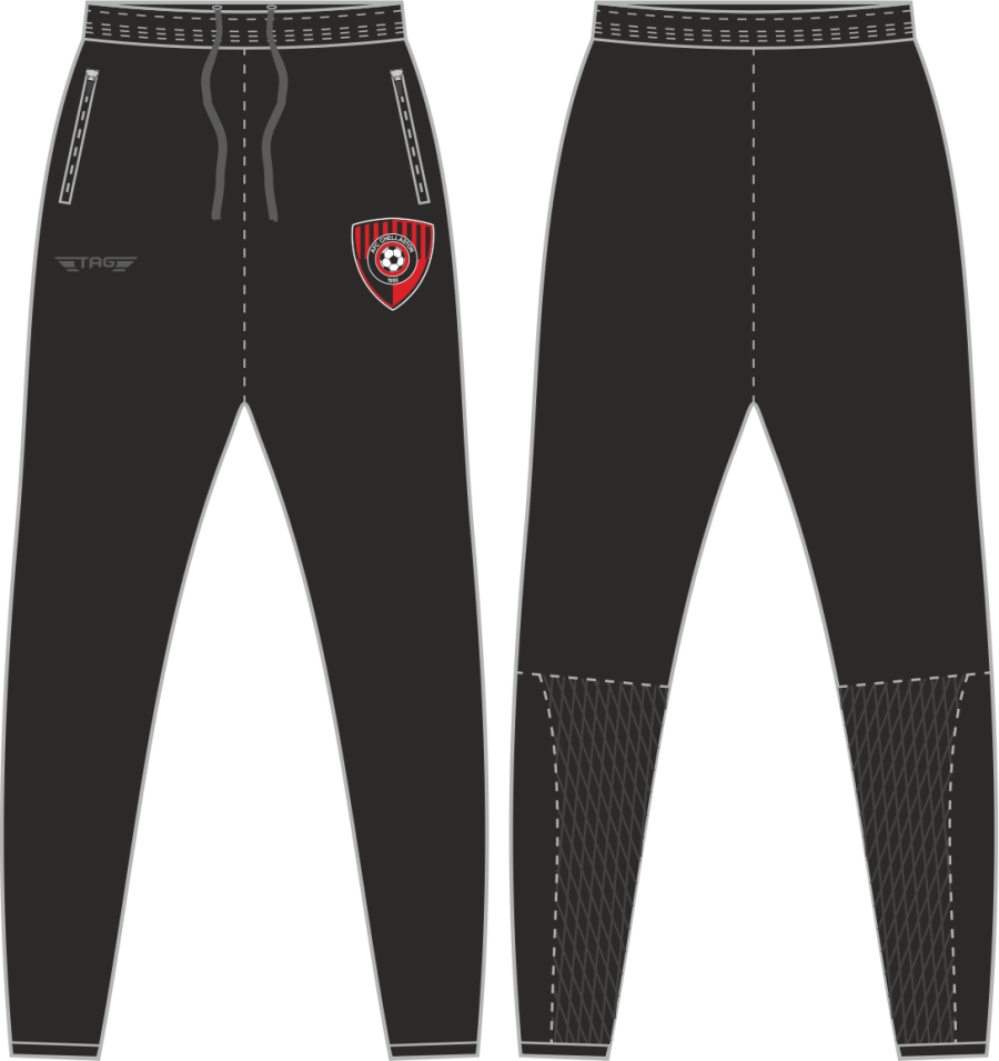 D2D. AFC Chellaston Tight Fit Tech Trouser - Adult