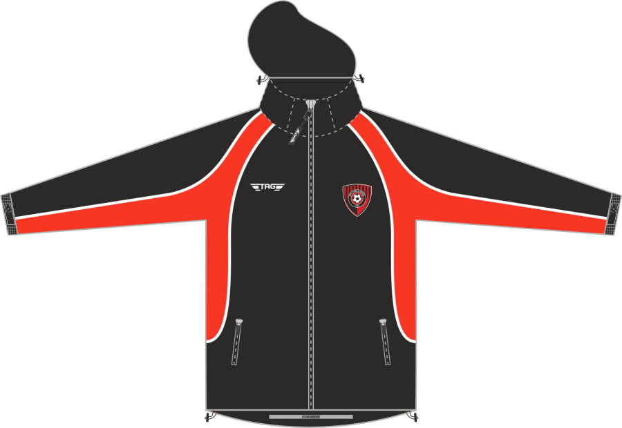 D4D. AFC Chellaston Rain Jacket - Adult