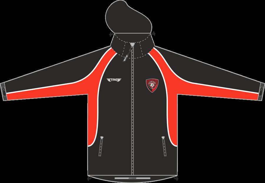 D4C. AFC Chellaston Rain Jacket - Child