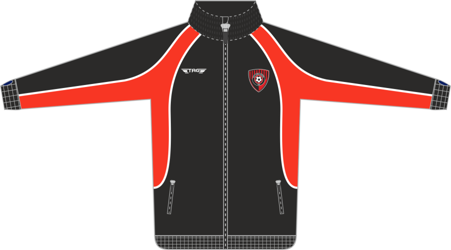 D6D. AFC Chellaston Tech Tracksuit Jacket - Adult**