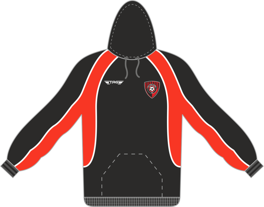 D7D. AFC Chellaston Sports Hoody - Adult**