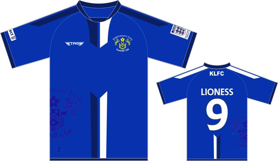 C2D. Kidderminster Lions Home Match Jersey S/S - Adult