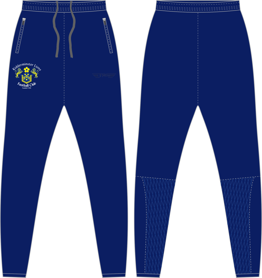 D2D. Kidderminster Lions Tight Fit Tech Trouser - Adult**