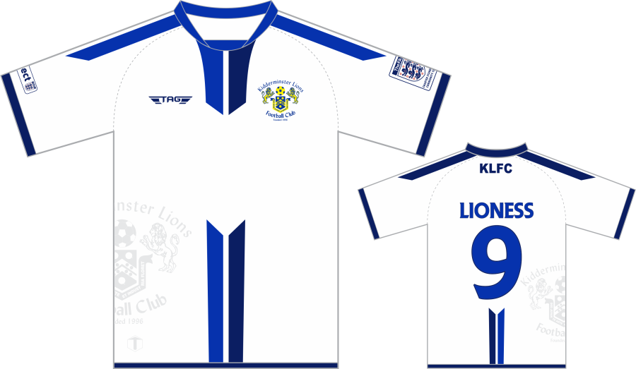D3F. Kidderminster Lions Training Jersey - Adult