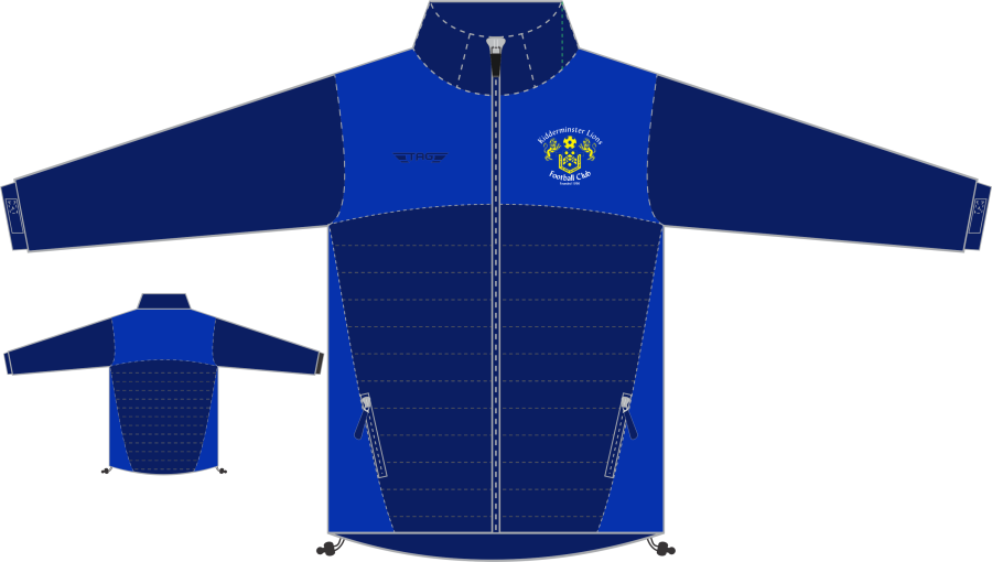 D4G. Kidderminster Lions Hybrid Softshell Jacket - Child**
