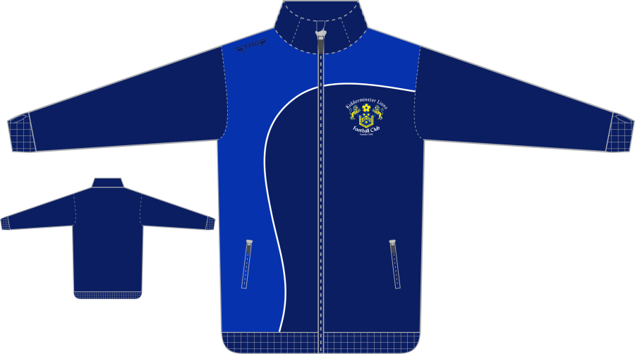 D6D. Kidderminster Lions Tech Tracksuit Jacket - Adult**